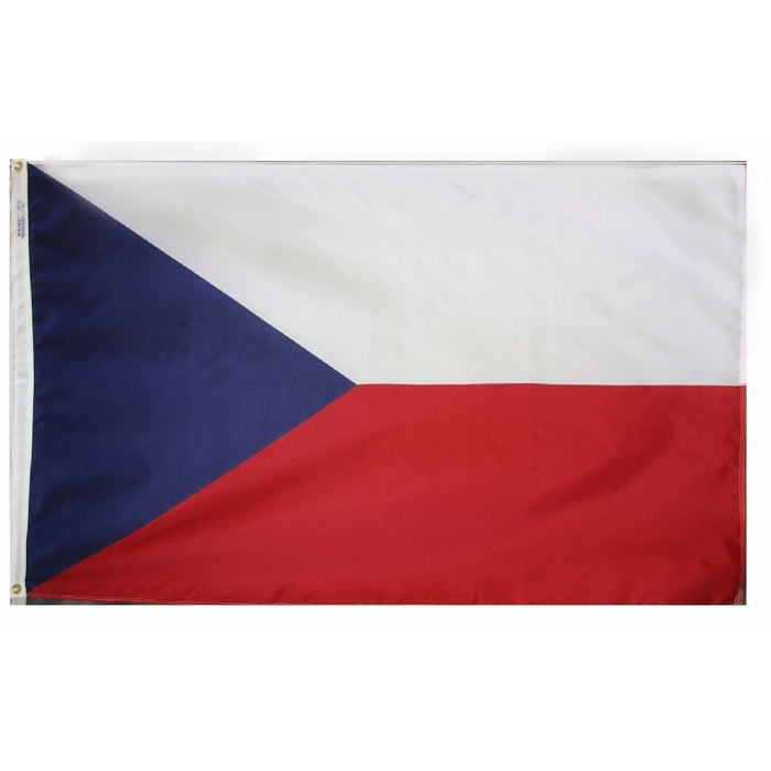 Czech Republic (Czechia) Nylon Flag