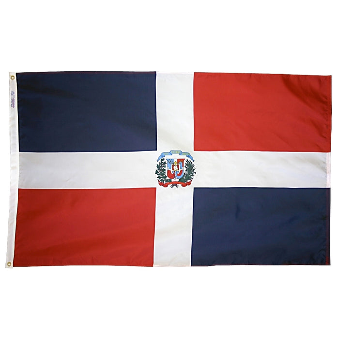 Dominican Republic Nylon Flag