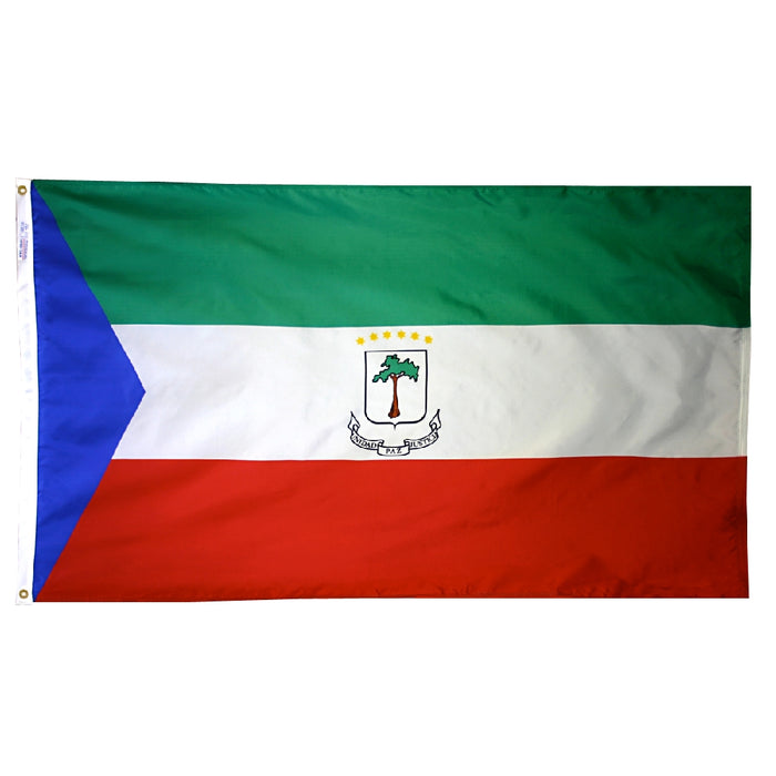 Equatorial Guinea Nylon Flag