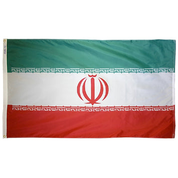Iran Nylon Flag