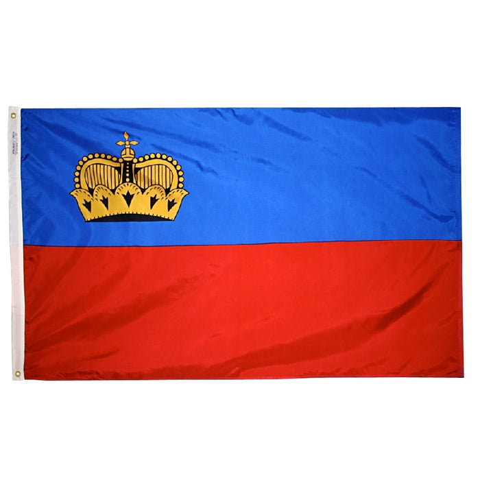Liechtenstein Nylon Flag