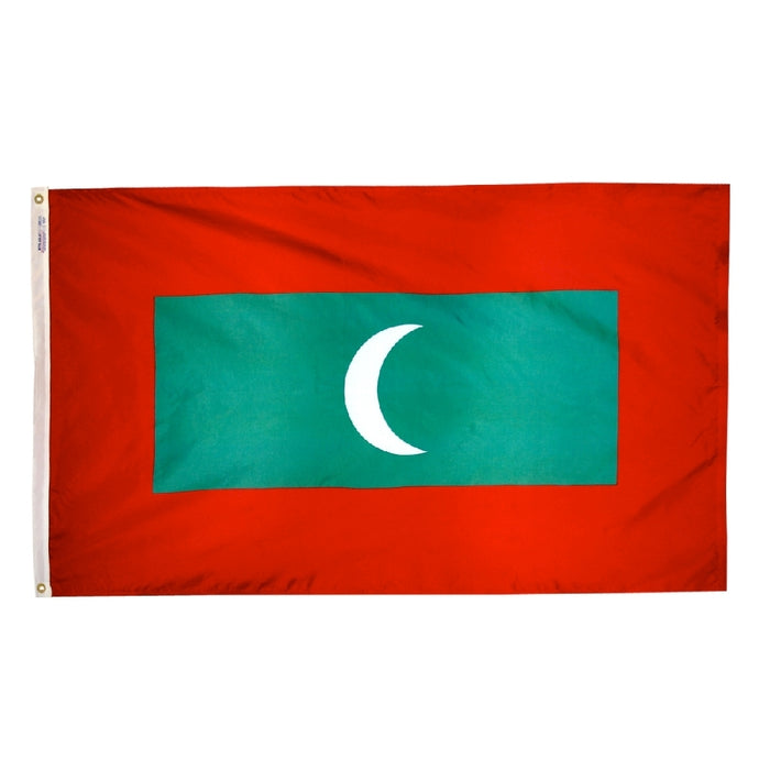 Maldives Nylon Flag