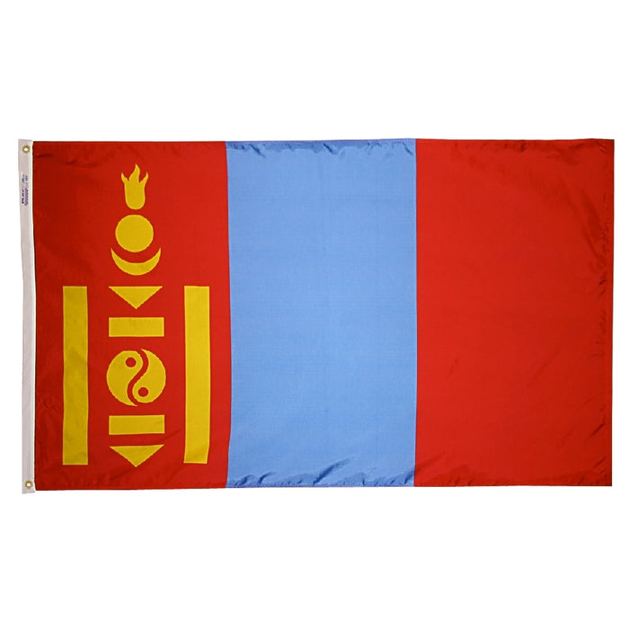 Mongolia Nylon Flag