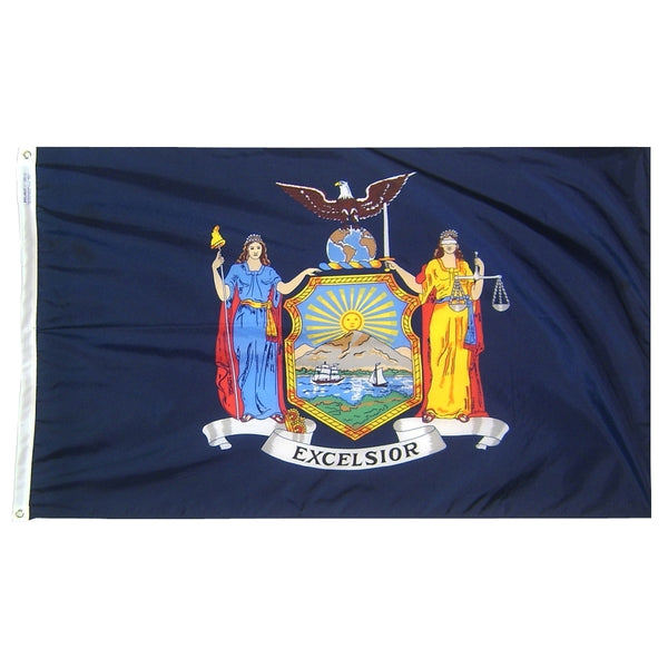 NEW YORK STATE NYLON FLAGS
