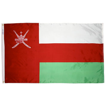 Oman Nylon Flag