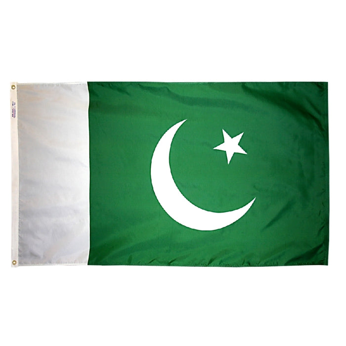 Pakistan Nylon Flag