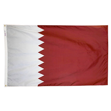 Qatar Nylon Flag