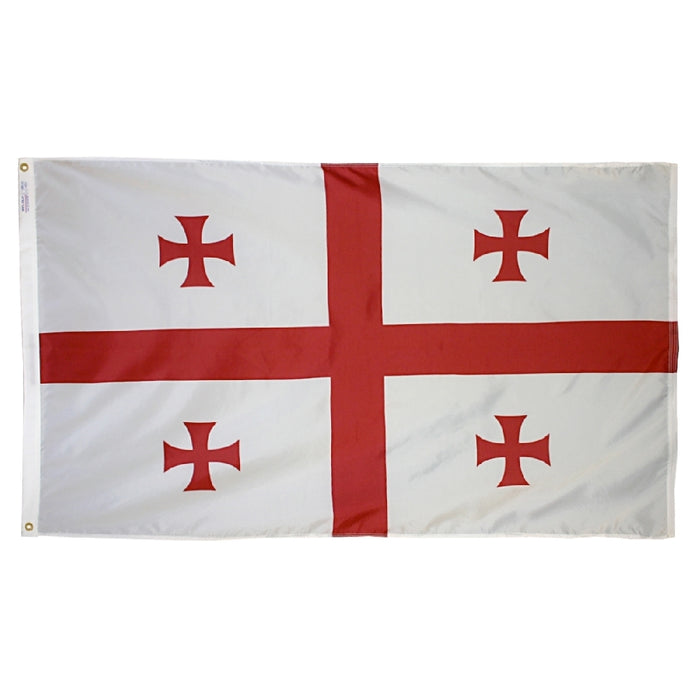 Republic of Georgia Nylon Flag