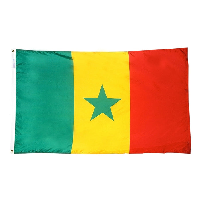 Senegal Nylon Flag