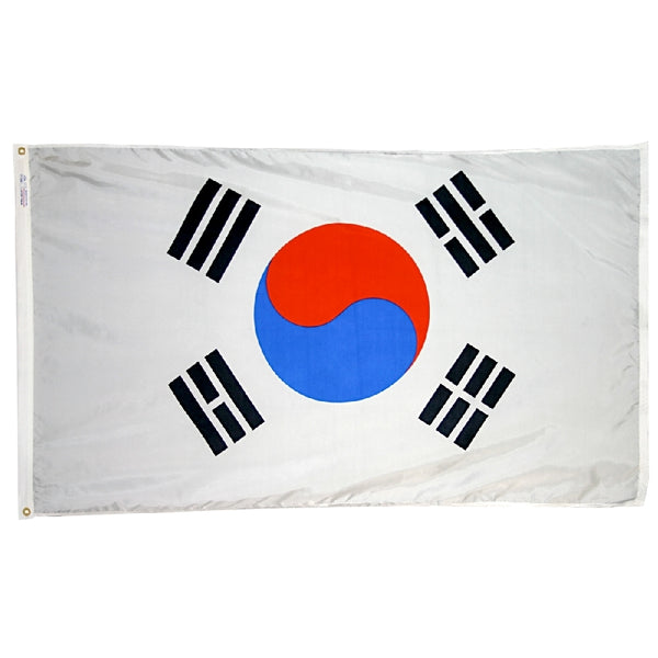 South Korea Nylon Flag