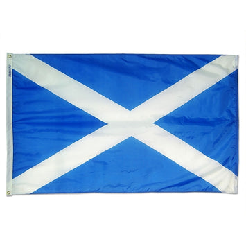 Saint Andrews Cross (Scotland) Nylon Flag