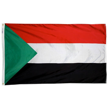 Sudan Nylon Flag