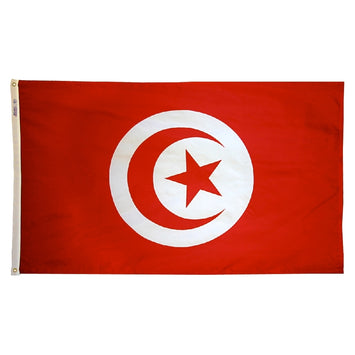 Tunisia Nylon Flag
