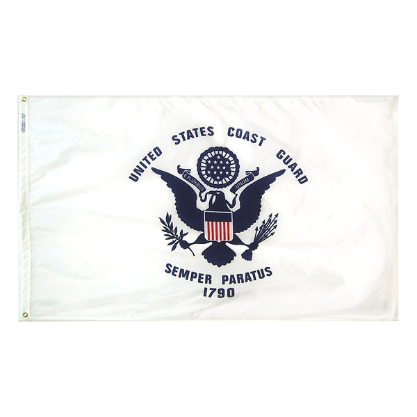 U.S. Coast Guard Nylon Flag