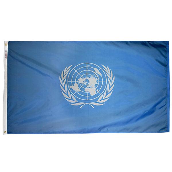 United Nations Nylon Flag