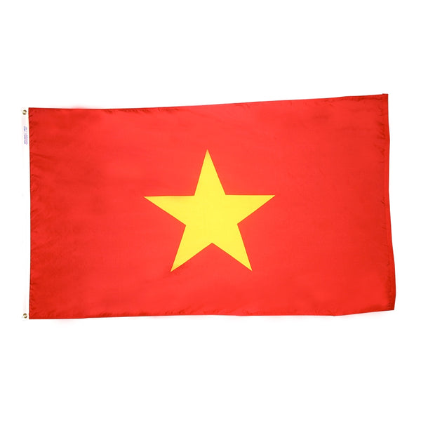 Vietnam Nylon Flag