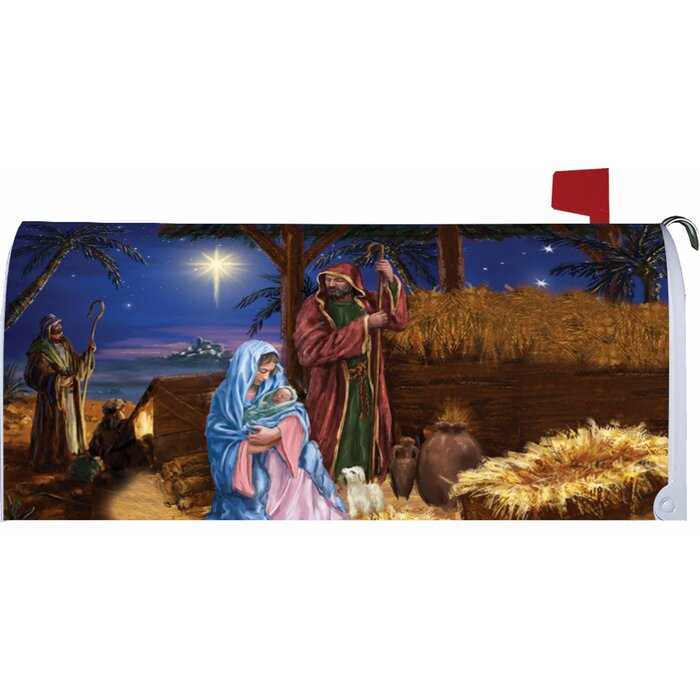 Mary and Joseph - Mailbox Makeover