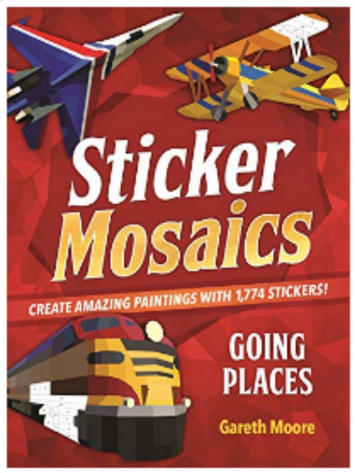 Sticker Mosaics Book