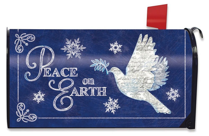 Peace On Earth Mailbox Cover