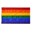 high quality made in the usa rainbow pride flag