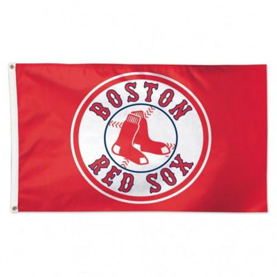 3'x5' BOSTON RED SOX RED BACKGROUND
