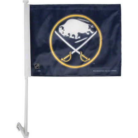 BUFFALO SABRES CAR FLAG