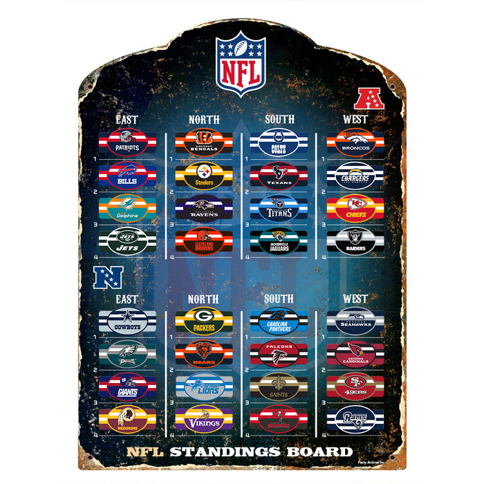 NFL MAGNETIC TEAM STANDING BOARD