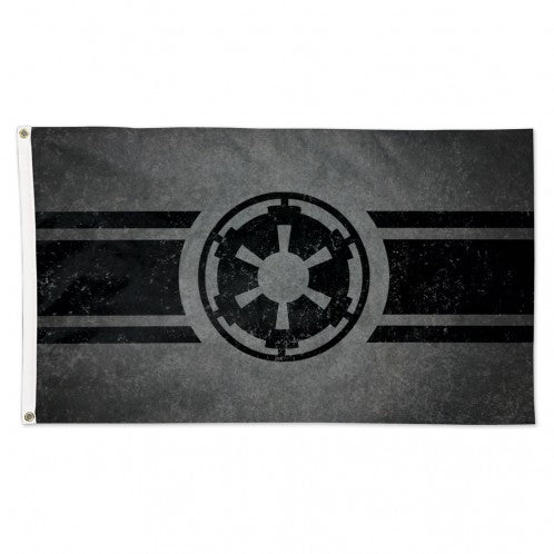 3x5 FT DISNEY STAR WARS EMPIRE LOGO FLAG
