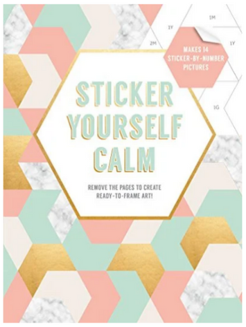 BOOK COVER WITH PASTEL COLORS AND VARIOUS SHAPES