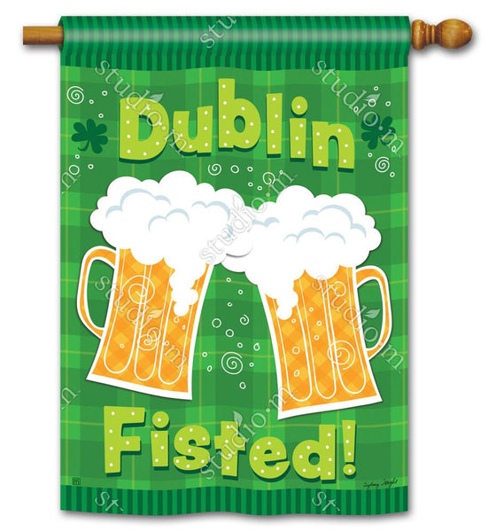 Dublin Fisted Decorative Flag