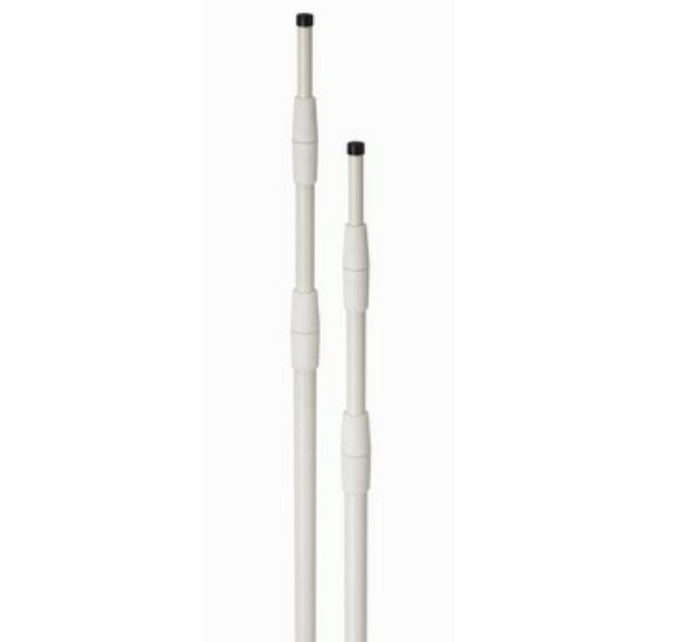 21' White Telescoping Superflex Pole