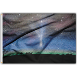 3'X5' STARRY NIGHT POLYESTER FLAG