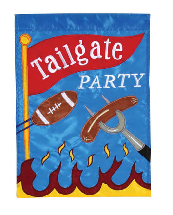 TAILGATE PARTY BANNER FLAG