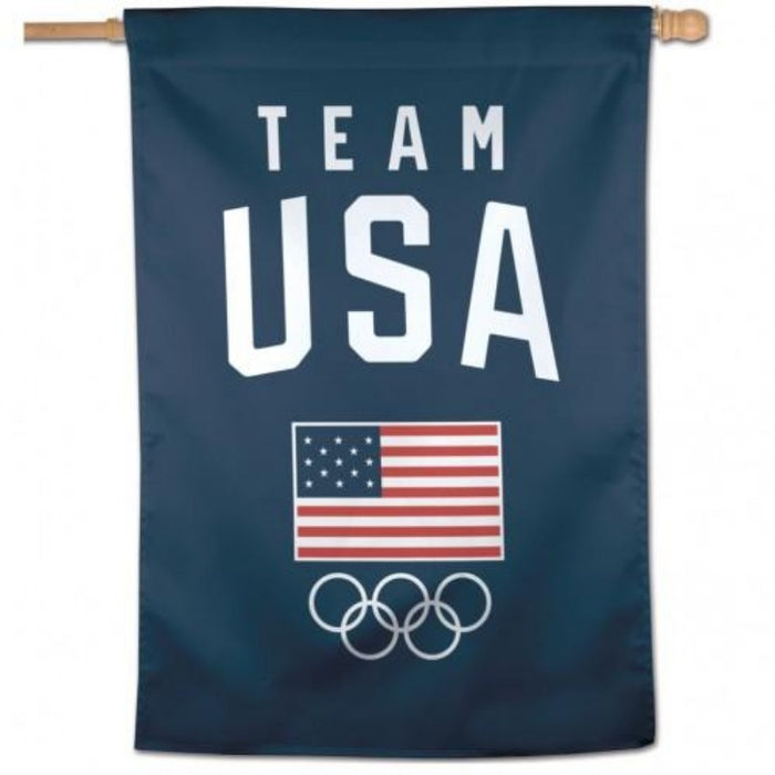 TEAM USA OLYMPICS VERTICAL BANNER FLAG