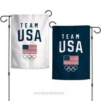 TEAM USA 2-SIDED GARDEN FLAG