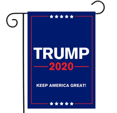 trump garden flag keep america great 2020