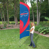 Buffalo Bills 8 1/2ft. Tall Team Feather Flag