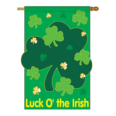 LUCK O' THE IRISH DECORATIVE FLAGS