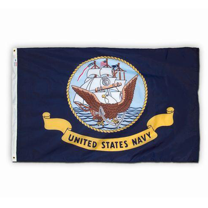 3x5' US Navy Polyester Flag