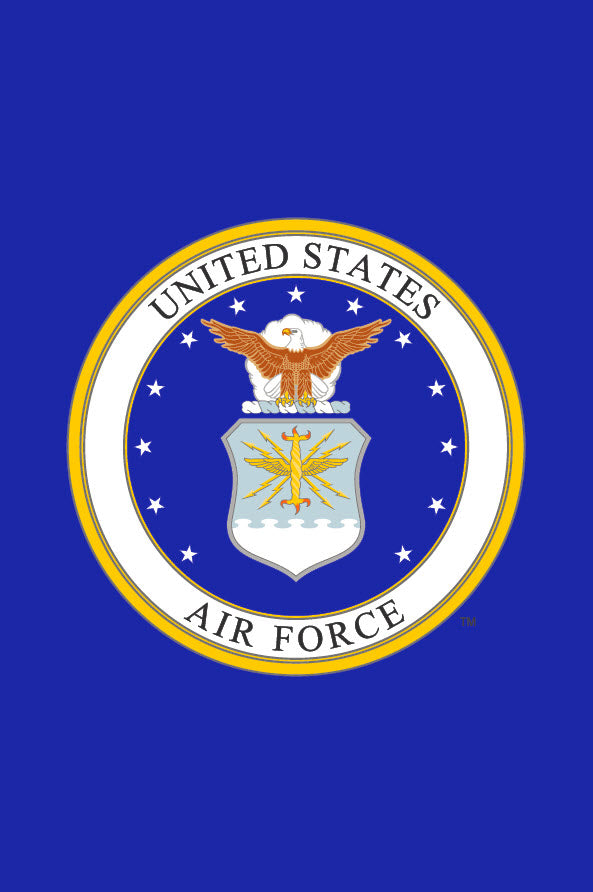 Seal of the US Air Force Garden Flag