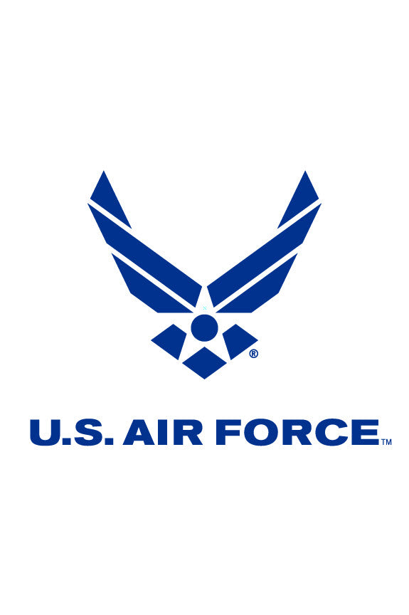 US Air Force Wings Logo Garden Flag