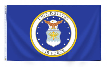 U.S. AIR FORCE NYLON FLAG