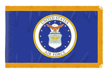 3x5 ft US Air Force Indoor/Parade Flag with Fringe