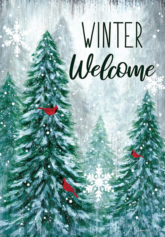 WINTER WONDERLAND HOUSE BANNER