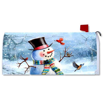 WOODSY SNOWMAN - MAILBOX MAKEOVER