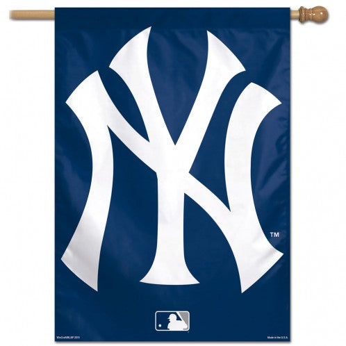 Yankees Logo Single Sided Banner Flag