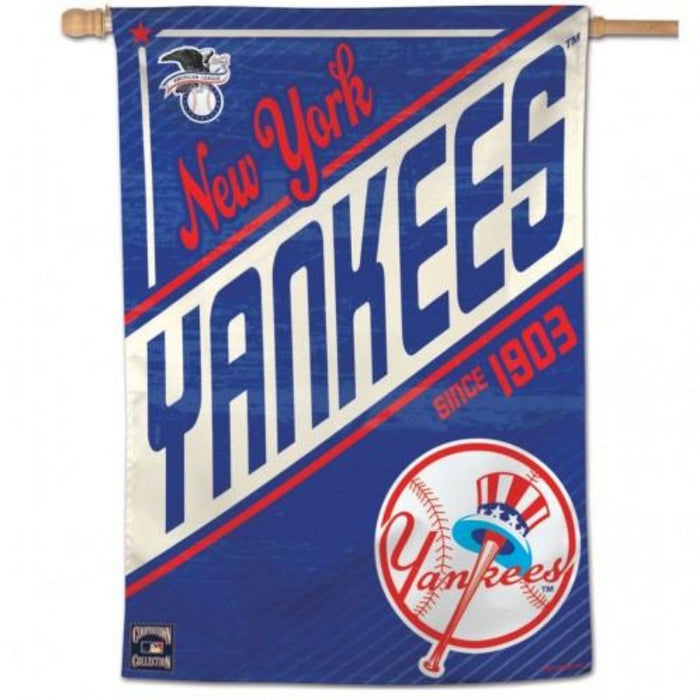 MLB NEW YORK YANKEES COOPERSTOWN BANNER