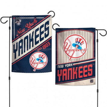 Yankees Cooperstown Double Sided Garden Flag