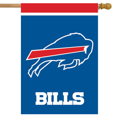 BUFFALO BILLS PLAIN DECORATIVE FLAG