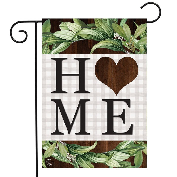 Farmhouse Home Double-Sided Garden Flag